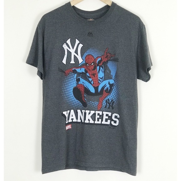 deaf1c5e3dd Majestic Other - Majestic NY Yankees  Marvel Spider Man Tee
